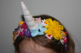 Unicorn Horn Crown 21